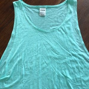 Pink Victoria's Secret Open Sided Tank Top
